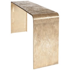 Brass Casted Console Table