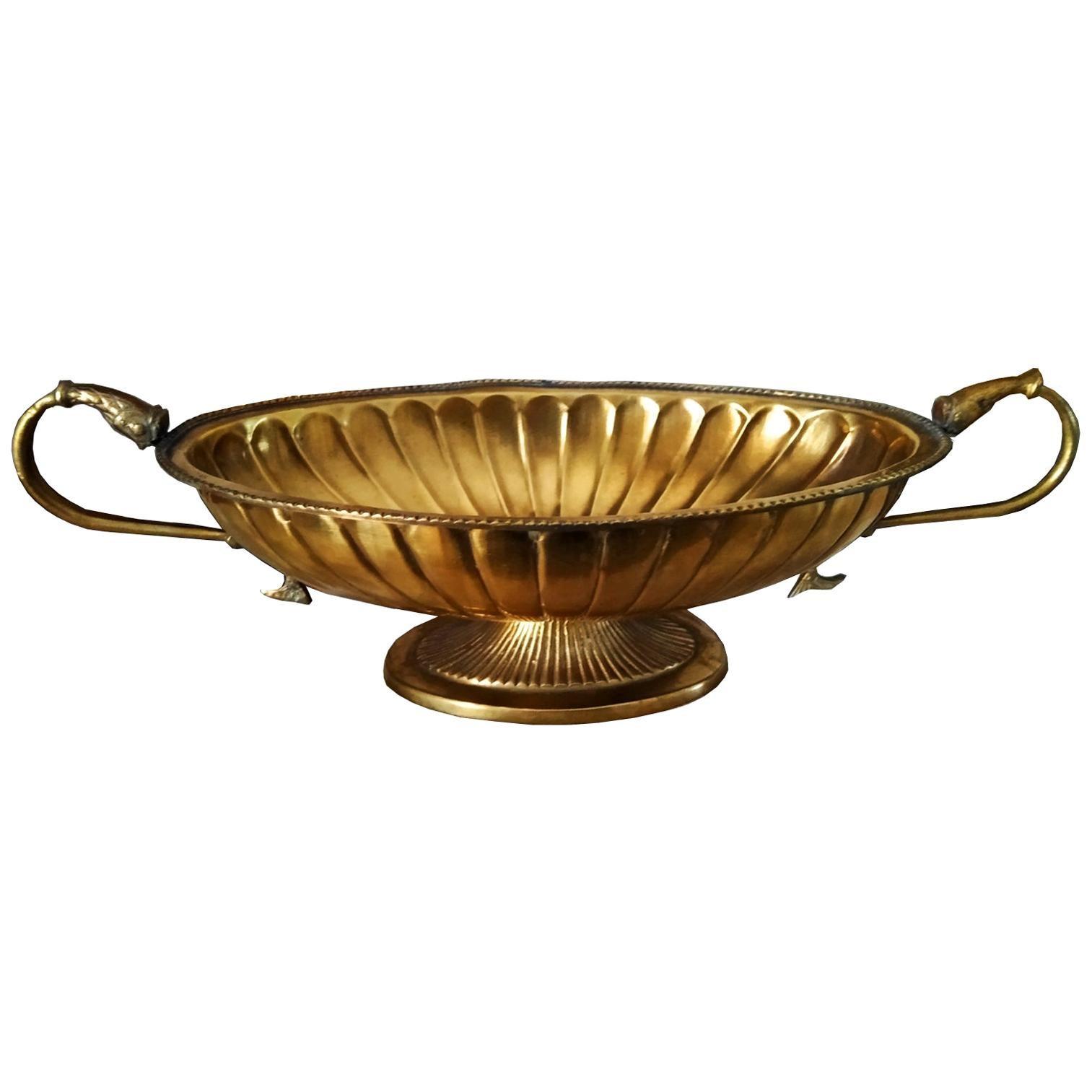 Brass Centerpiece