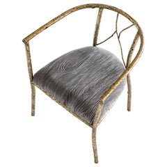 Brass Chair by Samuel Costantini