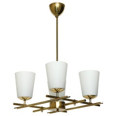 Brass Chandelier by Itsu