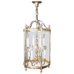 Brass Chandelier, Lantern