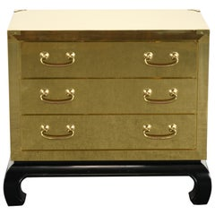 Brass Chest in the Manner of Sarried Ltd, Spain, 1960s