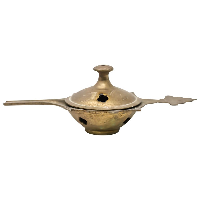 Brass Chinese Censer For Sale