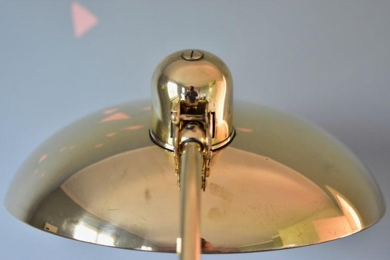 Brass Christian Dell Table Lamp 6631 Desk Lamp by Kaiser Idell Bauhaus, Germany For Sale 7