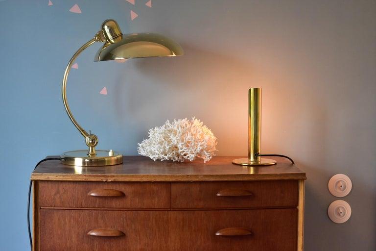 Brass Christian Dell Table Lamp 6631 Desk Lamp by Kaiser Idell Bauhaus, Germany For Sale 8