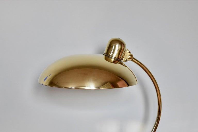 Brass Christian Dell Table Lamp 6631 Desk Lamp by Kaiser Idell Bauhaus, Germany For Sale 1