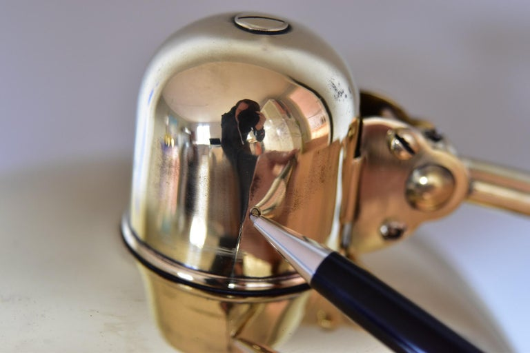Brass Christian Dell Table Lamp 6631 Desk Lamp by Kaiser Idell Bauhaus, Germany For Sale 2
