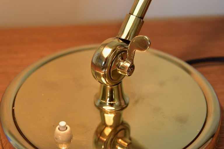 Brass Christian Dell Table Lamp 6631 Desk Lamp by Kaiser Idell Bauhaus, Germany For Sale 4