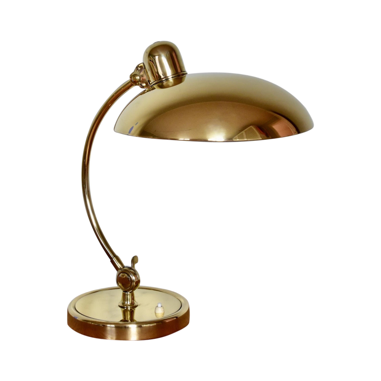 Brass Christian Dell Table Lamp 6631 Desk Lamp by Kaiser Idell Bauhaus, Germany