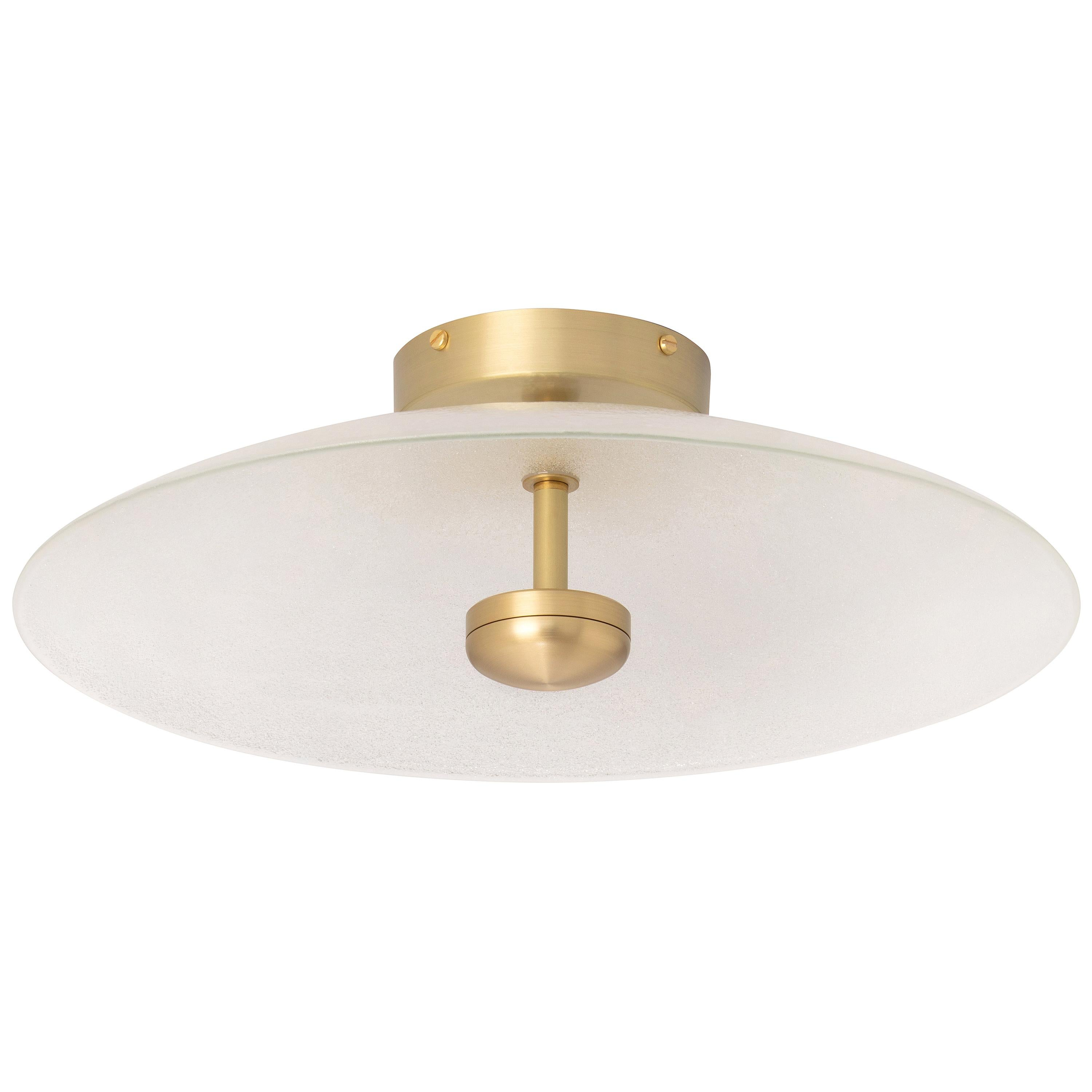 Brass Cielo Large Ceiling Lamp by CTO Lighting
