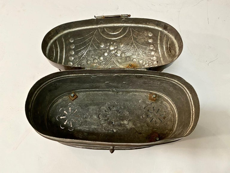 Dutch Brass Coach or Foot Warmer For Sale