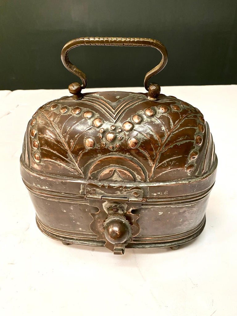 19th Century Brass Coach or Foot Warmer For Sale