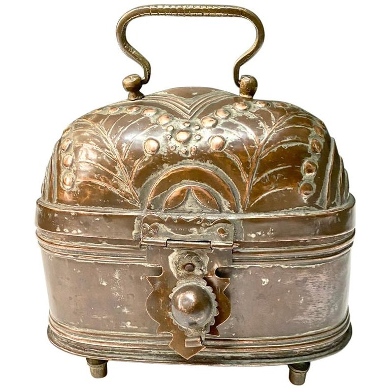 Brass Coach or Foot Warmer For Sale
