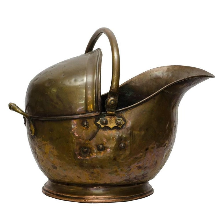 Brass Coal Scuttle For Sale