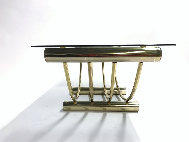 Brass Coffee Table, 1970s For Sale 5
