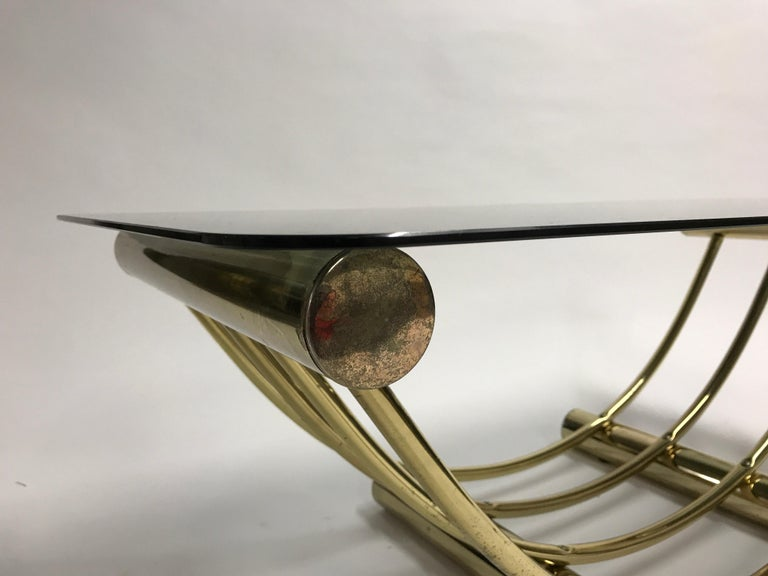 Brass Coffee Table, 1970s For Sale 2