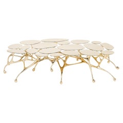 Brass Coffee Table/Accent Table by Zhipeng Tan