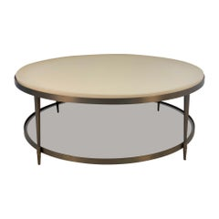 Brass Coffee Table by Barbara Barry for Baker