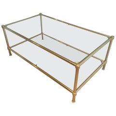Brass Coffee Table, circa 1960