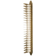 Brass Colossal Wall Sconce 900, Salone Del Mobile Edition in Milan