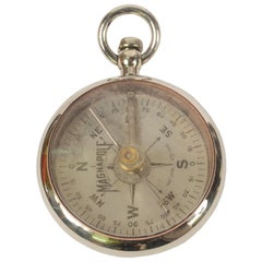Brass Compass Magnapole Made in 1915