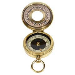 Brass Compass the Magnapole, Early 1900s