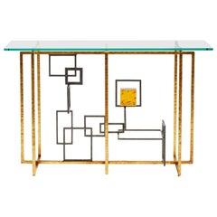 Brass Console by Studio Glustin