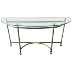Brass Console Table FINAL CLEARANCE SALE