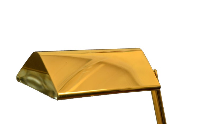 Brass Counter Balanced Floor Lamp By Chapman For Sale At