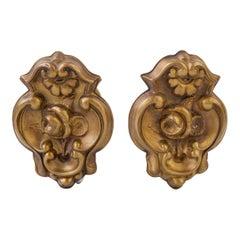 Brass Curtain-Holders