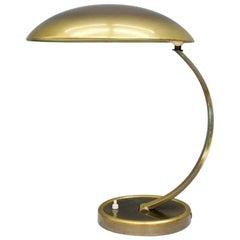 Brass Desk Lamp by Christian Dell 6751 for Kaiser, Germany, 1950s