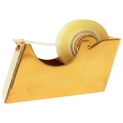 Brass Desk Tape Dispenser