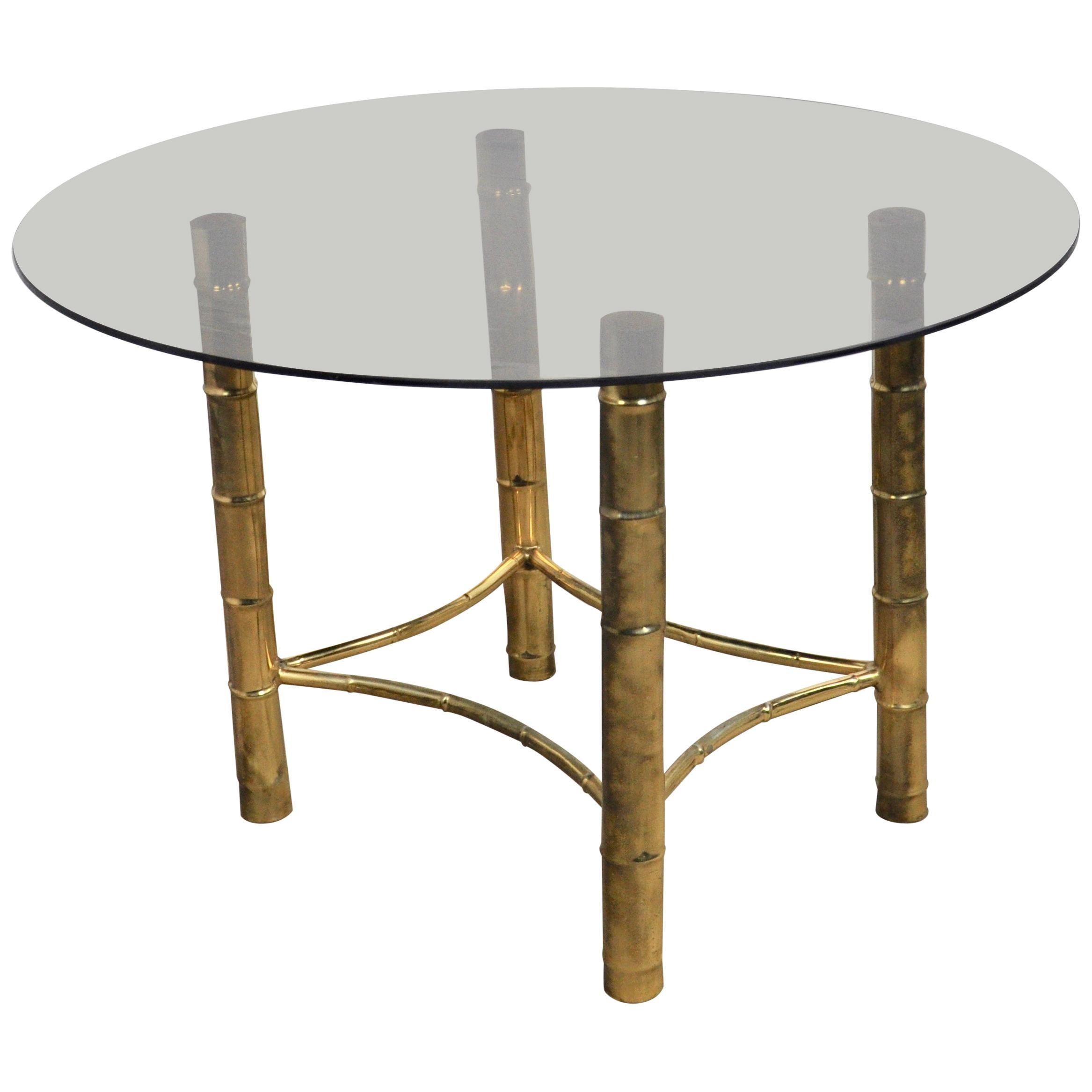 Brass Dining Table, 1960s