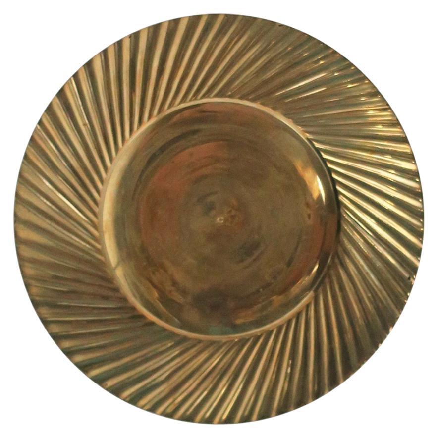 Brass Dish or Catchall Vide-Poche