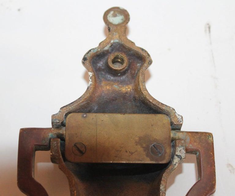 Brass Door Knocker For Sale 3