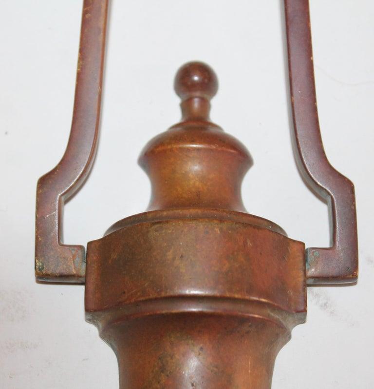 Country Brass Door Knocker For Sale