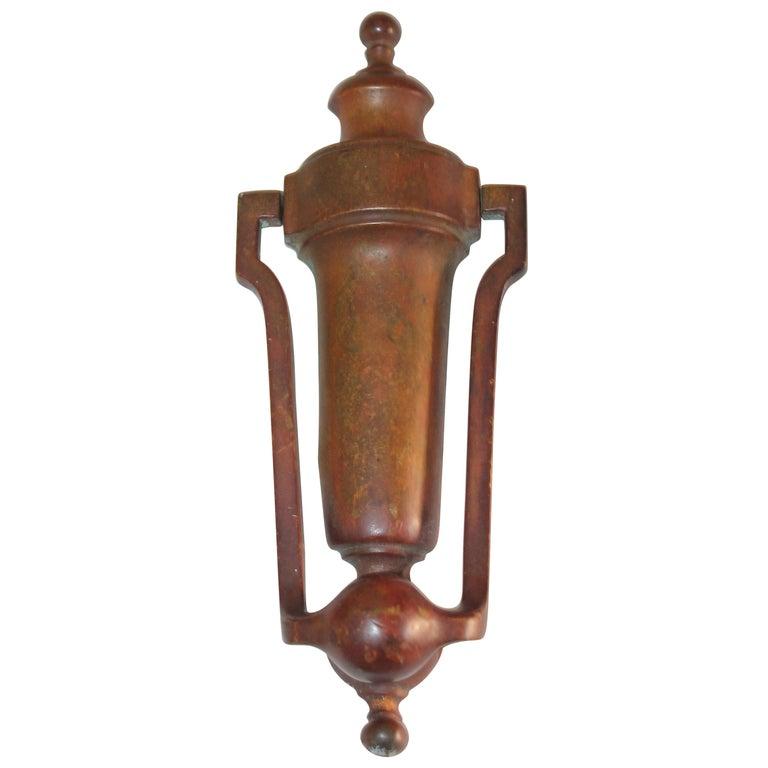 Brass Door Knocker For Sale