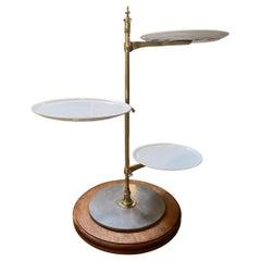 Brass Étagère-Servings Display Stand