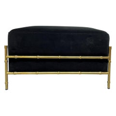 Hollywood Regency Ottomans and Poufs