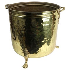 Brass Fireplace Bucket