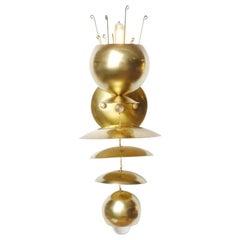 Brass Fleurish Sconce