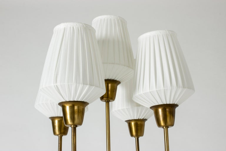 Brass Floor Lamp by Hans Bergström In Good Condition For Sale In Stockholm, SE
