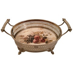 Brass Fruit Basket from the 1920s