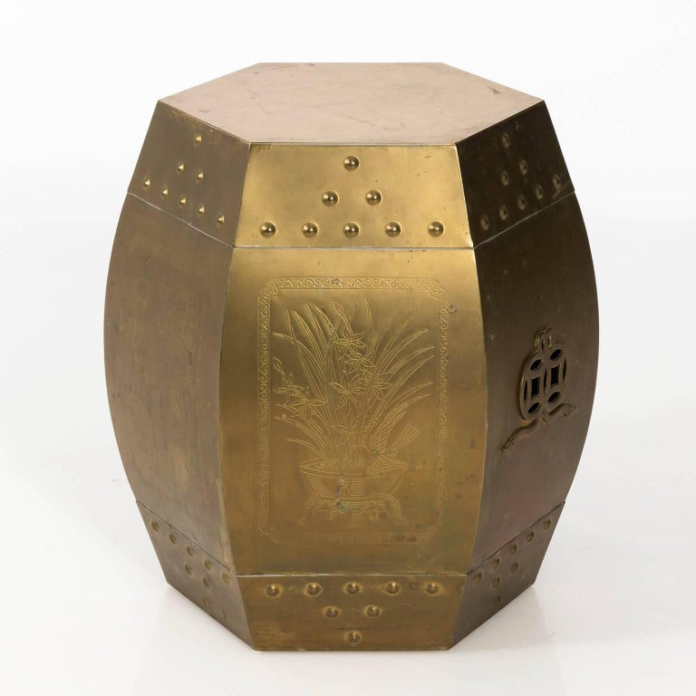 Brass Garden Seat For Sale 5