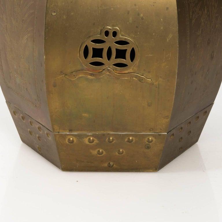 Brass Garden Seat For Sale 2