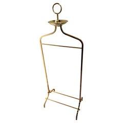 Brass Gentleman Valet Designed for Desi Arnaz by Charles Hollis Jones