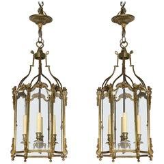 Brass Hall Lanterns
