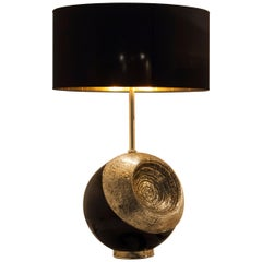 "Brass ""Herod"" Table Lamp, Angelo Brotto"
