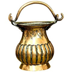 Brass Holy Water Stoup 17th Century