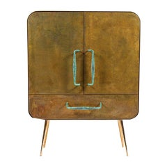 Brass Ingot Cabinet by Atelier Thomas Formont